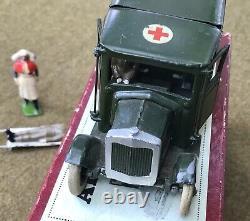1930 Britains Ltd Army Ambulance Square Nosed Casualty Nurse Driver Box Set 1521