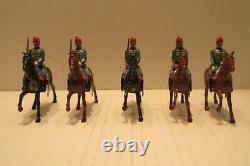 1930's Britain Toy Soldiers Spanish Calvary Set no. 218 5 Piece Scares Set Army