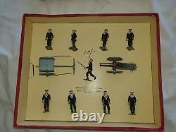 1952 Britains 54mm hollow-cast lead Set 79 Royal Naval Landing Party With Gun