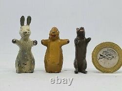 1952 Hollow-cast lead Luntoy Rag Tag & Bobtail figures