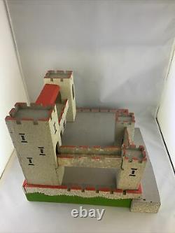1960s Britains Swoppet Knight Wooden Toy Castle FAO Schwarz