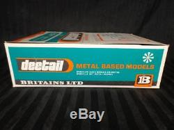 1973 BRITAINS Ltd DEETAIL Metal Based Models GERMAN MORTAR NOS BOX clean RARE