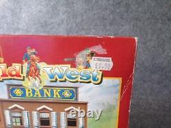1995 Britains Ltd. Wild West Bank Building (Boxed / Sealed) Deetail Cowboy 54mm