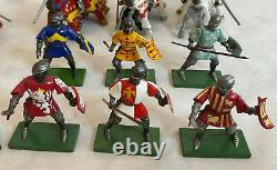1997 Britains Knights & Mounted Jousting Knights Job Lot MINT