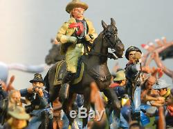 1/32 Scale Gen. Custer Last Stand Factory Painted Play Set