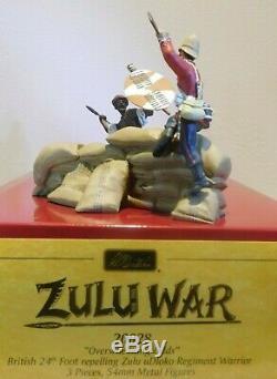 20028'Overwhelming Odds', British 24th Foot Repelling Zulu uDloko Warrior
