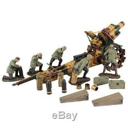 23054 1916-18 German 210mm Howitzer and 5 Man Crew W. Britain