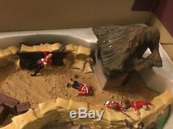 A Rare Limited Edition Zulu War Diorama of Rorkes Drift. 1669 of 2000