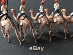 Ancient Britains 1st Version Set 48 Egyptian Camel Corps. Circa 1910