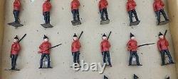 Antique Britains Ltd Lead Toy Soldiers British Footguards Set No. 115S England