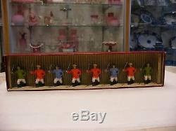 Antique Vtg Lead Sodiers Britains Pre-war Box Set No 241 Chinese Infantry Nice