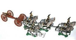 Artiglieria ipotrainata Voloira Antonini soldatini da collezione Figir Britains