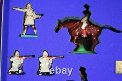 BRITAINS 00259 The BOER WAR CENTENARY SET 4 MOUNTED BOERS 8 CAMERON HIGHLANDERS