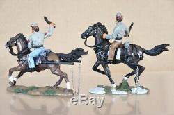BRITAINS 17433 AMERICAN CIVIL WAR CONFEDERATE 6 HORSE CASSION SET BOXED nv