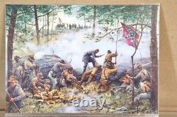 BRITAINS 17437 AMERICAN CIVIL WAR CONFEDERATE 20th MAINE 15th ALABAMA DEFENDING