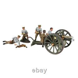 BRITAINS 23078 1914 British 13 Pound Gun RHA with Five Man Crew