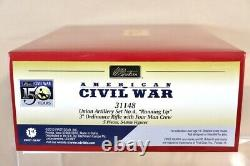 BRITAINS 31148 AMERICAN CIVIL WAR UNION ARTILLERY RUNNING UP SET nv