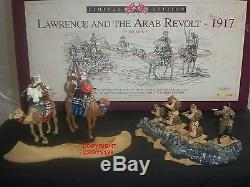 Britains 5298 Lawrence Of Arabia And Arab Revolt Metal Toy Soldier Figure Set