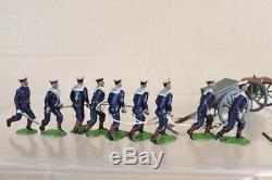 BRITAINS 79 ROYAL NAVY BOER WAR LANDING PARTY BOXED 1924 VERSION nw