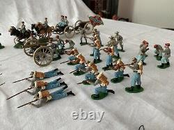 BRITAINS American Civil War Soldiers, Canons and Tender Set