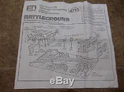 BRITAINS DEETAIL BATTLEGROUND PLAYSET 1977. Cat-No 4715