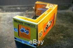 BRITAINS DEETAIL VINTAGE WWII World War II British Army Scout Car 9781 Boxed
