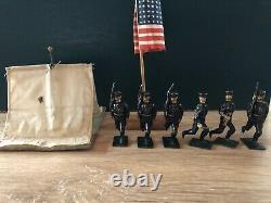 Beiser / Britains Very Rare Knockdown Game US Marines. C1910