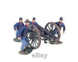 Britain 31148 Civil War Union Artillery set no. 4 3 ordinance rifle with 4 crew