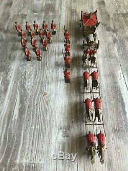 Britain Ltd Toy Lead Soldiers Set Queen Elizabeth II Coronation State Coach (31)