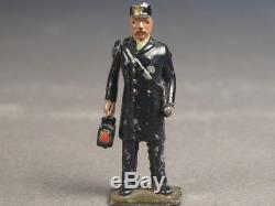 Britain Railway & Civilian Figures for Early 0 gauge Marklin or Bing Accessories