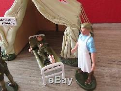 Britain Reference 41115 Poste De 1er Secours Avec Tente Blesses Et Medecins