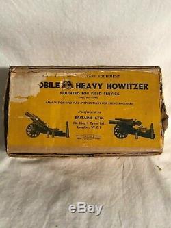 Britain's Heavy Howitzer Original Box