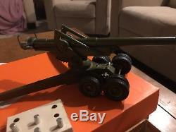 Britain's Soldiers No 2064 155mm Gun Toy With Orig Box England-Vintage