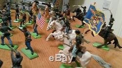 Britain's deetail American civil war figures (joblot)