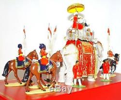 Britains 132 DELHI DURBAR & CURZON THE VICEROY OF INDIA ON STATE ELEPHANT Set