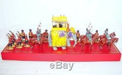 Britains 132 DELHI DURBAR NIZAM OF HYDERABAD ON STATE ELEPHANT PARADE Set MB`99