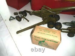Britains 155 MM Gun Boxed 2064- Plus Three Others