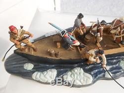 Britains #17229 17284 17282 George Washington Crossing The Delaware River Awi L3