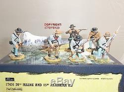Britains 17436 20th Maine + 15th Alabama Metal Toy Soldier Figure Set 2