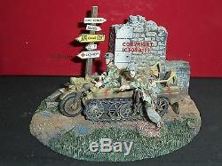 Britains 17638 German Paratroopers Kettenkrad Vehicle Metal Toy Soldier Set