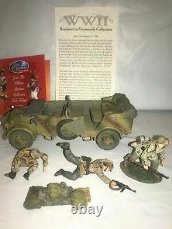 Britains #17691 Normandy 1944 German 17th Waffen Ss Division Ambushed Steyr Crew