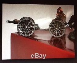 Britains 17869 WWI British Royal Field Artillery Limber & 18 Pound Gun Retired