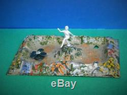 Britains 1930-41 Miniature Lead Rare Garden Lily Pond #067 Nymph Water Lily #779
