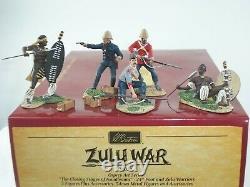 Britains 20024 Zulu War British 24th Foot Closing Stages At Isandlwana Set