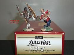 Britains 20144 Zulu War No Rules Warrior Kicking British 24th Toy Soldier Set