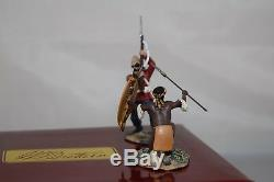 Britains 20146 Zulu War'thrust And Block!' Hand-to-hand 1/30 Scale Ltd Ed Set