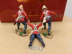 Britains 20177 Zulu War Rescue British 24th Foot Dragging Comrade Figure Set