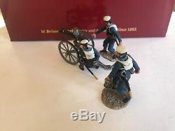 Britains 27038 British Naval Brigade Gatling Gun NEW War Along Nile NIB WAN