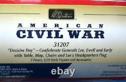 Britains 31207 54mm American civil war Confederate Generals 7 pcs 2013 MIB oop