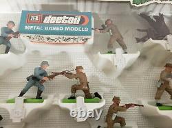 Britains 7348 Deetail British & German Infantry 1973